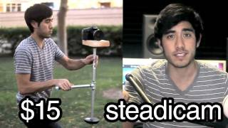 $15 DIY steadicam in 15 minutes!