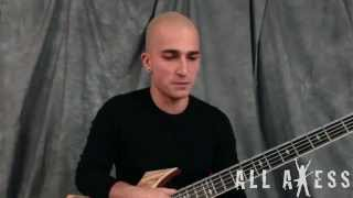 Paolo Gregoletto/Trivium - Caustic Are The Ties That Bind - All Axess Tune Tutor