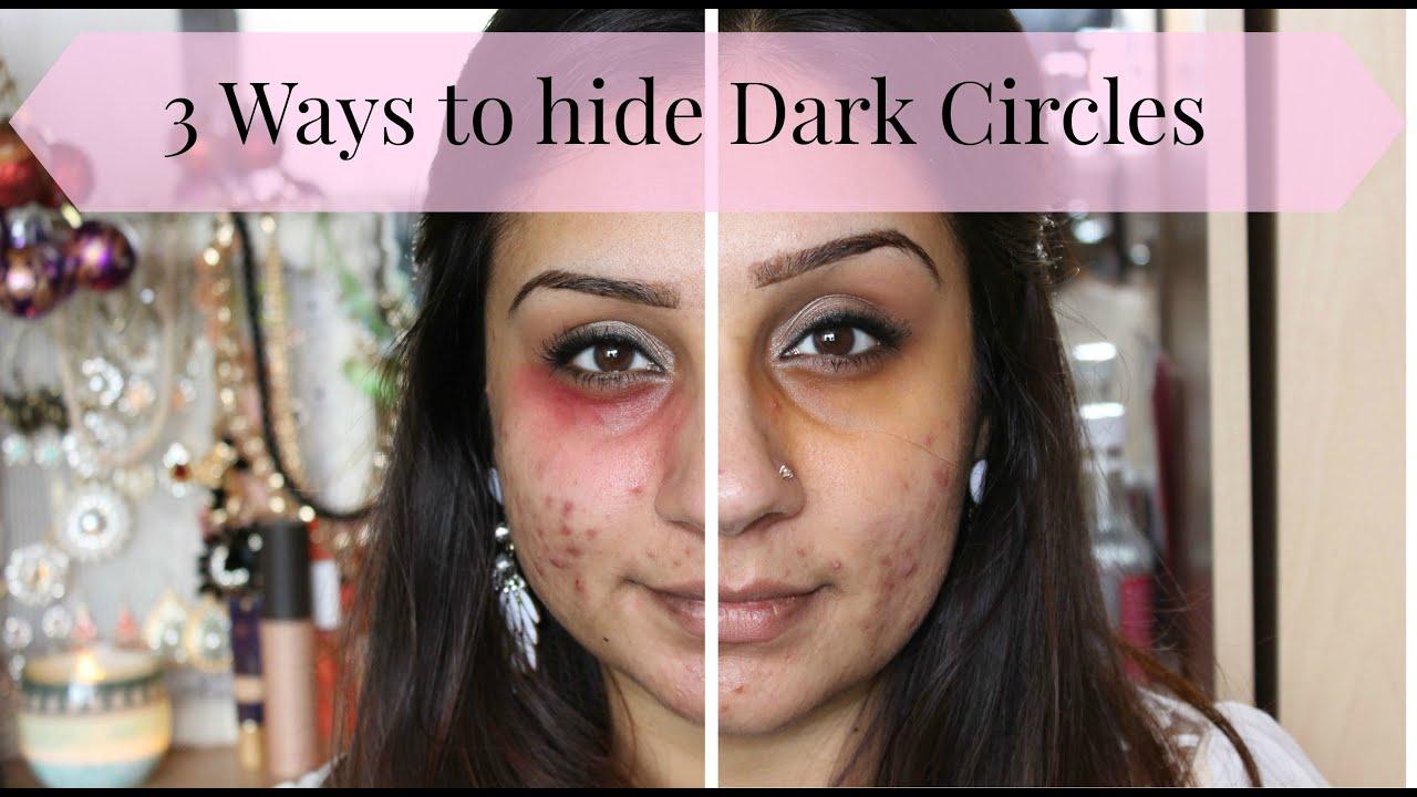 Best makeup to cover dark circles under eyes
