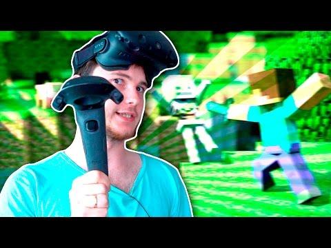 САМОУБИЙСТВО В VR! | Minecraft (HTC Vive VR)