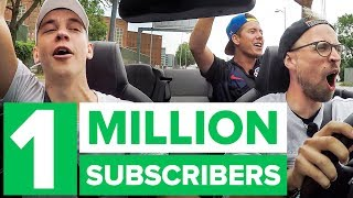1 MILLION SUBSCRIBER GIVEAWAY AND CELEBRATION