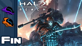 Let's Play Halo Reach [Co-Op Campaign] - PC Gameplay Part 9 - Finale - Pillar of Autumn