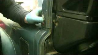 Defender and series landrover bulkhead and wiring loom change and fit instructions and guide pt3