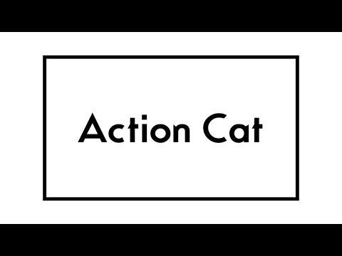Action Cat - Gerard Way - Lyric Video