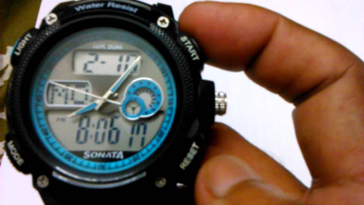 how to close back of titan sonata wrist watch