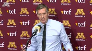 Mark Coyle Talks P.J. Fleck Contract Extension