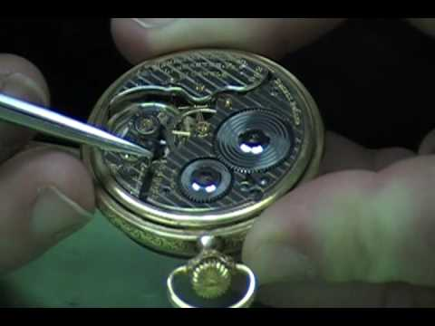 Hamilton RR Vintage Pocket Watch - Urbane Watch Review