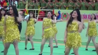 Dân vũ Học viện An ninh- Liên hoan dân vũ, cổ động các trường CAND 2017
