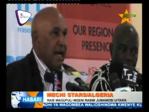 Raisi Dk Magufuli Mgeni Rasimi Taifa Stars Dhidi Ya Algeria