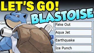 Pokemon Let's Go Blastoise Moveset! How To Use Blastoise!