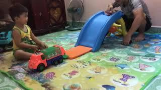 Bé chơi cầu tuột😂❤️trò chơi trẻ em