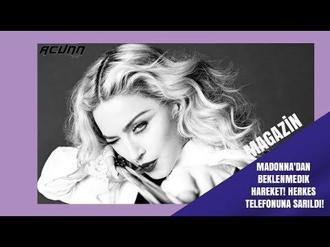 Madonna'dan beklenmedik hareket! Herkes telefonuna sarıldı!