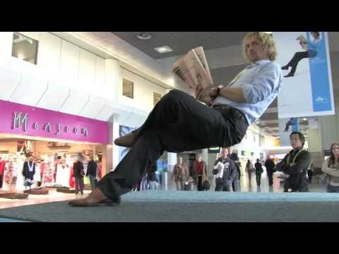 KLM Economy Comfort Product with Ramana at Manchester Airport T2