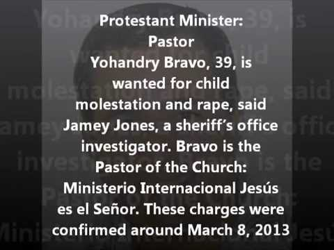 Protestant minister sexual accusations