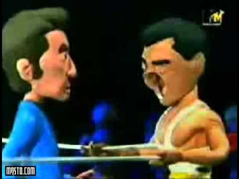 Celebrity Deathmatch Robert Deniro vs Al Pacino
