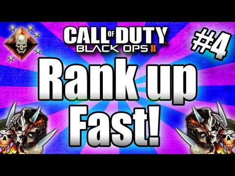 ★Black Ops 2: RANK UP FAST - Tips and Tricks! (Call of Duty BO2 Multiplayer) Part #4