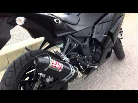 Kawasaki Ninja 250r Yoshimura Exhaust Change Sound Check!