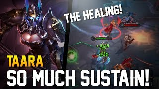Arena of Valor: SO MUCH SUSTAIN!! Taara Gameplay