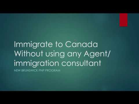 Immigrate to Canada without paying Consultant or Agent
