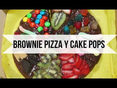 Cake Pop Brownies Brownie Pizza Cake Pops