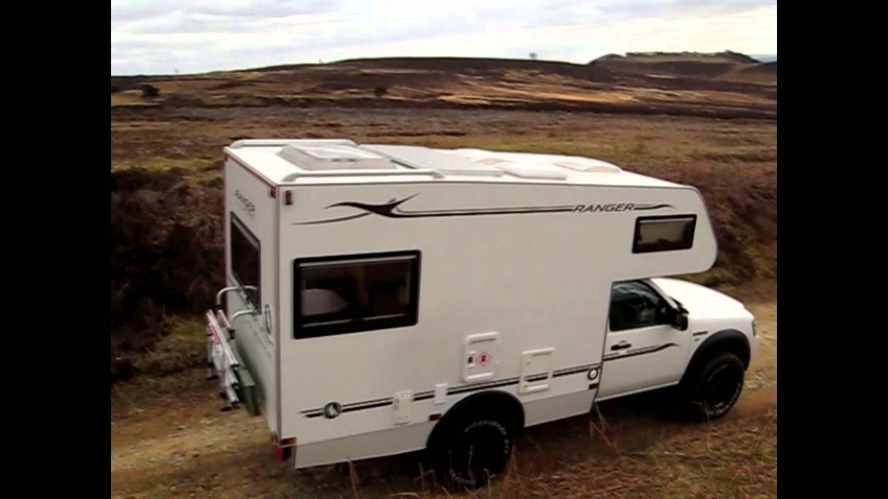 Ford Ranger 4x4 Motorhome - YouTube