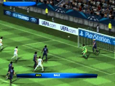 PES 2014 (PS2) Anderlecht vs Real Madrid - Champions League
