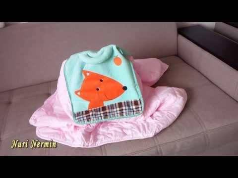 подушки + теплое одеяло мягкая игрушка
