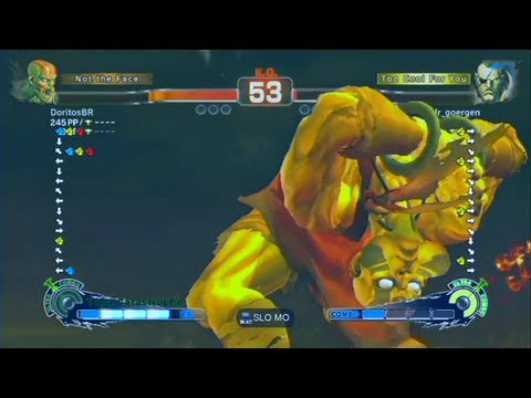 Doritos (Dhalsim) VS Metal God (Sagat) - SSFIV AE2012 - Casual Endless
