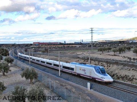 SUSCRIBETE AQUI: http://goo.gl/BbSt9q **Mas sobre AVE: https://www.youtube.com/watch?v=qyetCi2owyg Un ratillo en la linea de Alta Velocidad de Andalucia,lo j...