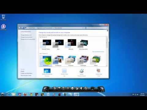How to install themes on windows 7 (alienware theme)