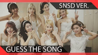 Guess The SNSD Song In 1 Second