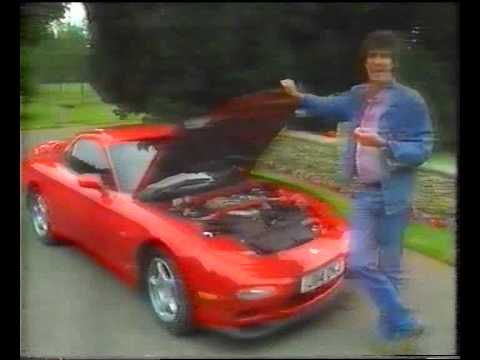 Mazda RX7 FD & Mitsubishi 3000GT tested on Top Gear appox 1993