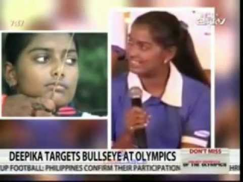 Deepika Kumari Aiming For Olympic Gold