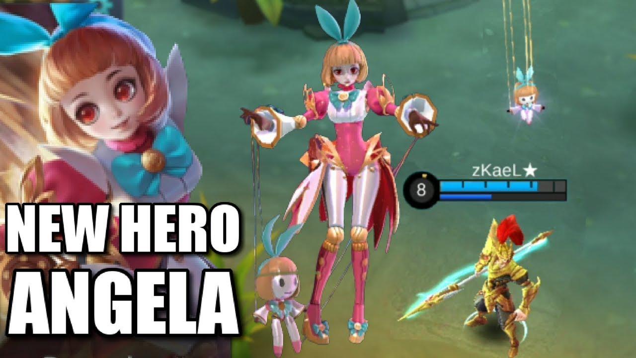 NEW HERO ANGELA ANIMATION AND SKILLS EXPLANATION