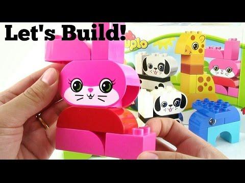 LEGO DUPLO Creative Animals #10573 - Let's Build!