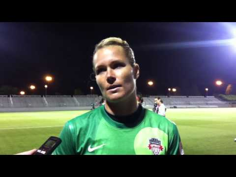 Ashlyn Harris (Washington Spirit v Chicago Post-game-July 10, 2013)