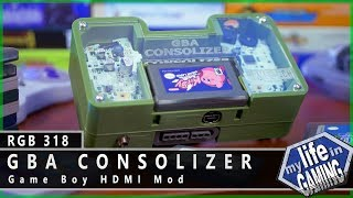 GBA Consolizer - Game Boy HDMI Mod :: RGB318 / MY LIFE IN GAMING