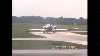 Landing at Akron/Canton Regional Airport. (Extended)