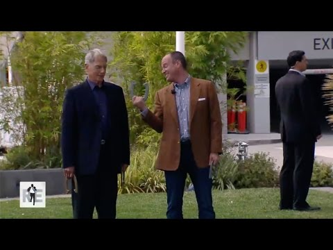Actor Mark Harmon & Rich Eisen Play a Game of Horseshoe on The RE Show - 5/7/15