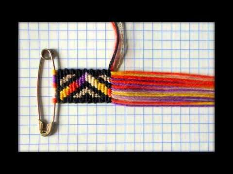Фенечка прямое плетение картинки