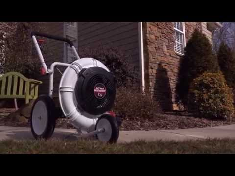 New Little Wonder® C5 Blower -- Move More Air. Cover More Ground