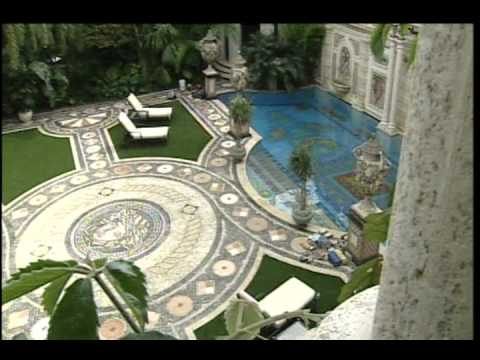 Versace mansion tour youtube for Versace mansion miami tour