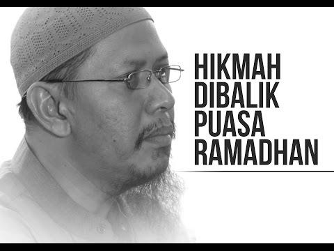 Hikmah Dibalik Puasa Ramadhan - Ustadz Abu Ihsan Al-Maidany.MA