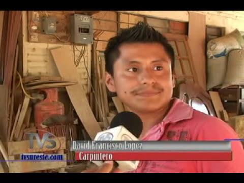 TVS Noticias.- Arte en Madera tradición familiar, Chinameca, Veracruz