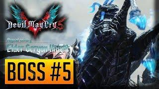 Devil May Cry 5 Elder Geryon Knight Boss Fight - Boss#5 (DMC5)