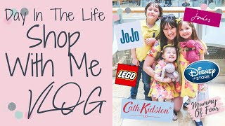 SHOP WITH ME DISNEY STORE | JOULES | JOJO MAMAN BEBE | CATH KIDSTON | LEGO | DITL OF A MUM VLOG