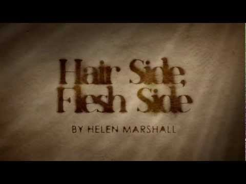 Book Trailer for Hair Side, Flesh Side