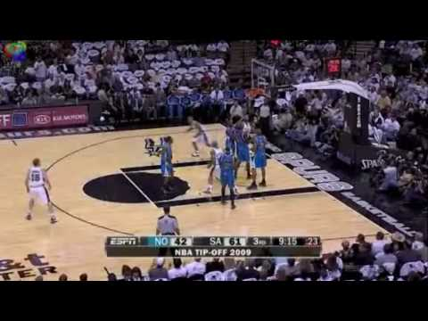 San Antonio Spurs Highlights Oct 2009