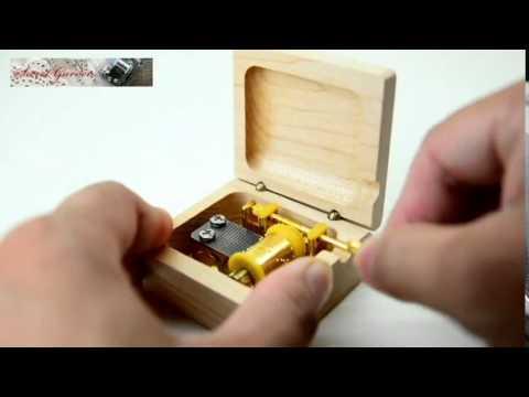 Bản sao của Cầu Vồng - Music Box 15 Nốt Quay Trục