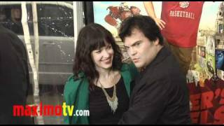 Jack Black and Tanya Haden at